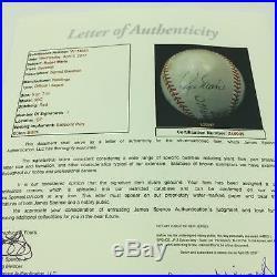 1960's Roger Maris Single Signed Autographed Rawlings Baseball With JSA COA