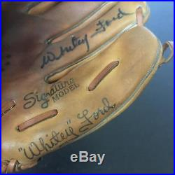 1960's Whitey Ford Signed Autographed Game Model Baseball Glove With JSA COA