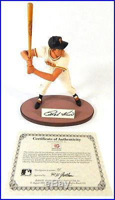 1992 Gartlan Signed Ralph Kiner Figurine #395/1,975 COA with Box Auto