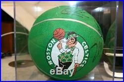 2010-2011 Boston Celtics Team Basketball Autographed With COA