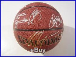 2015-2016 Cleveland Cavaliers Team Autographed NBA Ball with COA