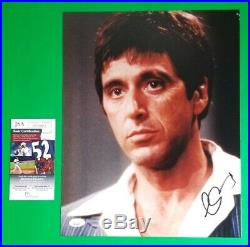 AL PACINO SIGNED 11X14 SCARFACE PHOTO CERTIFIED AUTHENTIC WITH JSA COA psa