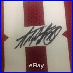 Adrian Peterson Autographed Reebok Jersey Size XL With JSA COA Vikings Sooners