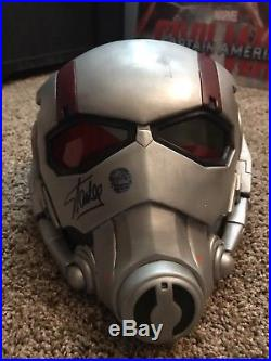 Ant-man 11 PVC Helmet Signed By Stan Lee With Excelsior Hologram And COA