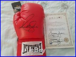 Anthony Joshua Signed Boxing Glove With Coa
