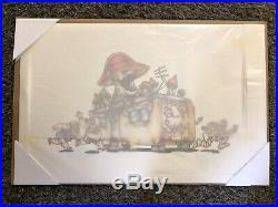 Autographed Eminem COA With Limited Edition /99 Fine Art Print Skam2 Shady