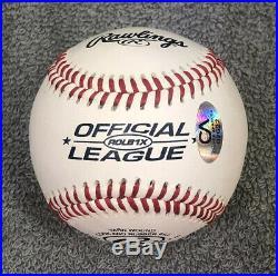 Barack Obama Signed Autographed Official League Baseball with COA