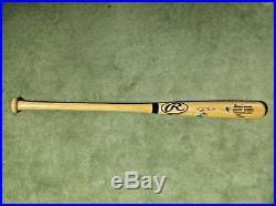Barry Bonds Signed Autograph RARE 73rd Home Run Bat COA/Hologram Cert With Case