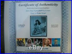 Bettie Page- 8x10 Hand Signed B&w Autograph With Coa / On Sale 0ct 23-26
