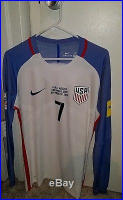 Bobby Wood Autographed USMNT Game-Worn Goal scoring jersey. With COA