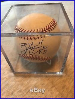 Bryce Harper Autographed Major League Baseball With COA