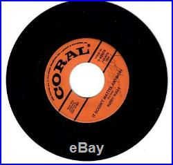 Buddy Holly Signed 45 RPM Record autographed with COA