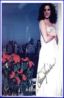 Carrie Fisher (deceased) Signed 8x10 Autographed Absolutley Gorgeous With Coa