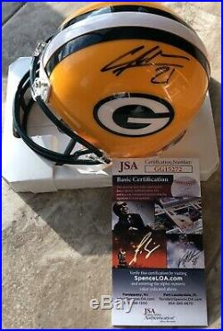Charles Woodson Signed Green Bay Packers Mini Helmet Autograph With JSA COA