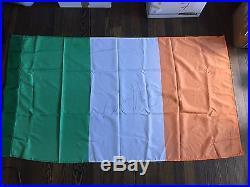 Conor McGregor Autographed Irish Flag with COA