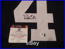 Dak Prescott Autographed Dallas Cowboys Jersey With COA