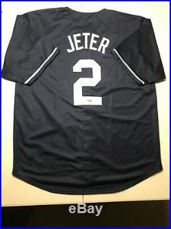 Derek Jeter Signed Autographed New York Yankees Jersey With COA