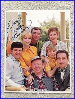 Don Knotts Autograph collection photos, & George Lindsey, with COA's & biography