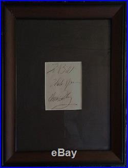 Elvis Presley Authentic Autograph Beautiful with COA