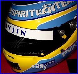 Fernando Alonso 2005 Hand Signed Full Scale team Spirit Replica Helmet with COA