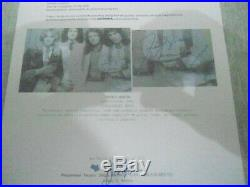 Freddie Mercury Queen Signed Photo With COAs, Vintage Very Rare Autograph