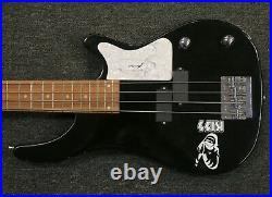 Gene Simmons of KISS Signed Autographed Bass Guitar Rogue with COA