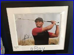 Genuine Tiger Woods Signed Photo with COA