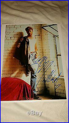 George Michael signed 8 x 10 photo with COA