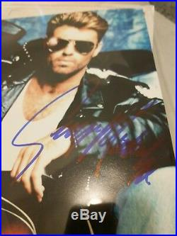 George Michael signed 8x10 Photo Picture Autographed with COA