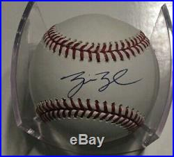 George W. Bush Signed Official Major League Baseball With Cube COA