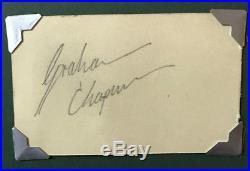 Graham Chapman (Monty Python) signed autograph (with COA)