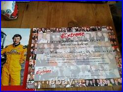 Guy martin signed JCB and photo with coa number 8of 10