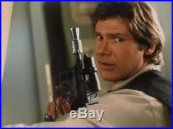 Harrison Ford Star Wars Autographed In Person 8x10 Photo with COA