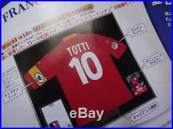 Italy #10 Totti 100% Reliable Autographed Signed Jersey 2002 Away NEW with COA