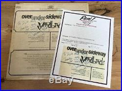 Jimmy Page Signed Very Rare Early Yardbirds LP Autographed with REAL COA