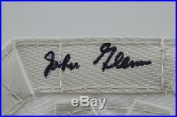 John Glenn Signed & Flown on Space Shuttle Part with COA from NASA