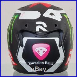 Jorge Lorenzo Race Worn Autographed Helmet with COA