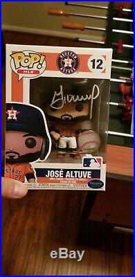 Jose Altuve Signed Autographed Funko POP Houston Astros with COA