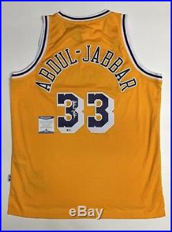 Kareem Abdul-jabbar Autographed Lakers Jersey With Beckett Coa #j55928