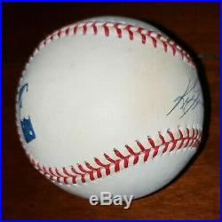 Ken Griffey Jr. Signed Autographed OMLB Baseball With Steiner COA