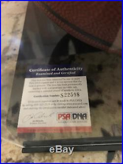 Kevin Durant Signed Autographed I/O NBA Basketball With COA With Ball Case