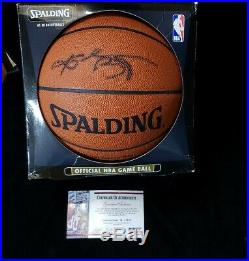 Kobe Bryant Spalding Autographed Official NBA Game Ball With COA