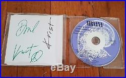 Kurt Cobain Hand Signed With Coa Nirvana Come As You Are Single Autographed