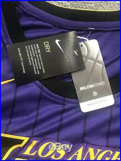 Lebron James Signed Autographed Nike Purple/Black Authentic Jersey with COA