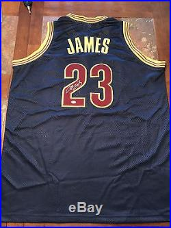 huge discount bc774 69fad Autographs With Coa | Lebron James autographed jersey with COA