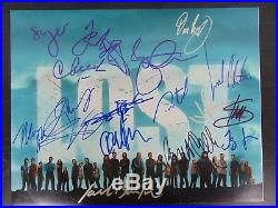 Lost Cast Signed 11X14 Photo With 16 Signatures Autograph World COA