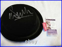 MALCOLM McDOWELL Signed CLOCKWORK ORANGE Autograph TOP HAT WITH JSA COA RARE