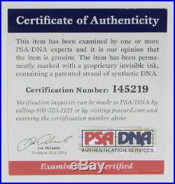 MICHAEL JACKSON THRILLER 8x10 AUTOGRAPHED PHOTO WITH PSA/DNA COA