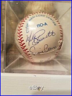 MLB 500 Home Run Club Autographed Baseball with 11 with coa