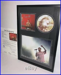 Mac Miller Signed Watching Movies With The Off CD Album Autograph Jsa Coa Loa